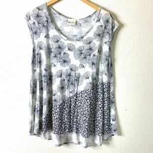 Anthropologie Porridge Tunic Tee